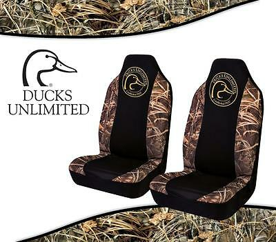 Ducks Unlimited Seat Covers >> Realtree Max4 Camo With Ducks Unlimited Spandex Camo Seat Covers