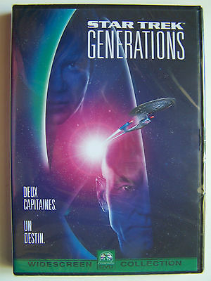 Star Trek Generations - Deux Capitaines, Un Destin - Dvd Neuf, Emballe -