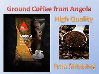Rare Delta Ground Coffee 8.8oz 250g.From Angola!