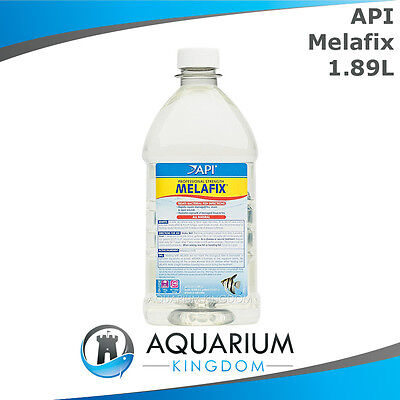 API Melafix 1.89L - Natural Anti-Bacterial Medication Treatment for Sick Fish