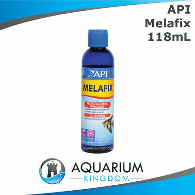 API Melafix 118mL Natural Anti-Bacterial Medication Treats Fish- Fin & Tail Rot