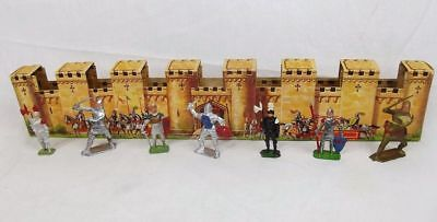 Crescent Toys Medieval Knights Set Circa 1953