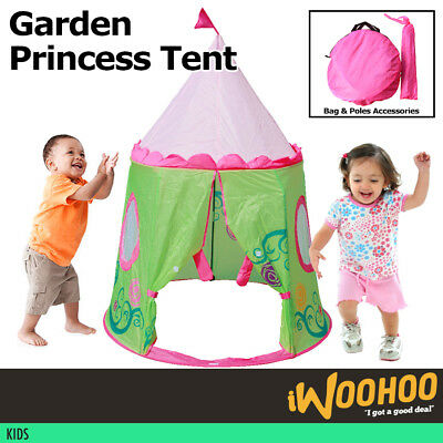 New Boys Blue Castle kids Indoor Outdoor Play House Play Tent
