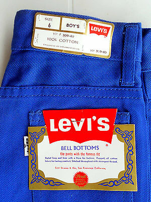 CELESTIAL JEANS 424 Vintage Bell Bottoms 1970's - Levi's (NEW & LABELS)