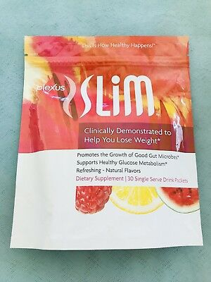 Plexus Slim - 30 Day Supply PINK DRINK Packets - Supports Glucose Metabolism