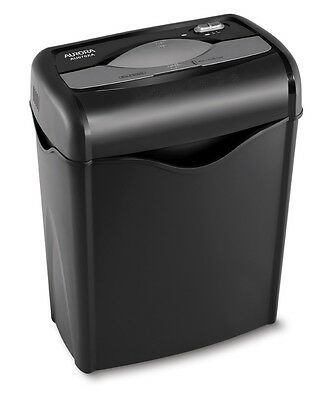 AURORA AU670XA 6 Sheet Professional Cross-cut Paper / Credit Card Shredder