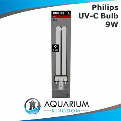 Philips 9W Ultra Violet Clarifer Lamp Light Bulb Fish Pond One ClearTec UV-C UV