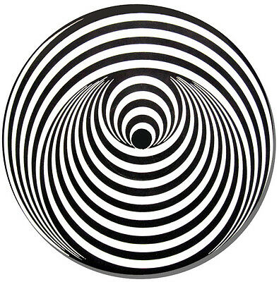 Vertigo Swirl Record Label Round Mouse Mat. Vinyl Fan Mouse pad Gift