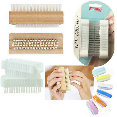 Nail Brush Care Hand Scrubber Cleaning Scrub Bristles Side Toe Manicure Pedicure