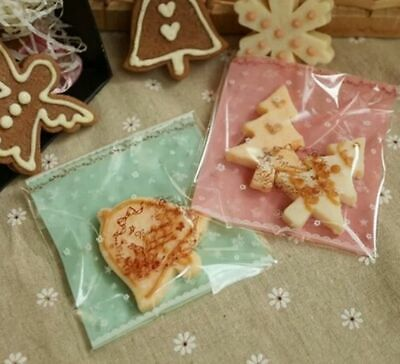 Self-adhesive Cello Sweet Treat Display Favor  Party Bag  Cellophane