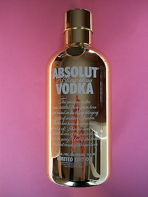 Absolut Vodka Bling 700Ml Limited Edition No Alcohol