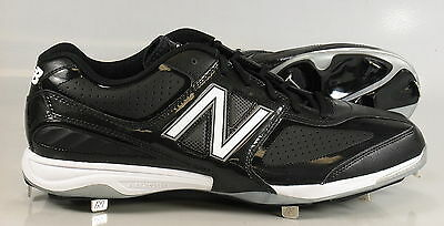 New in Box New Balance MB4040BB Baseball Metal Spike Cleats BLACK Mens US 16 2E