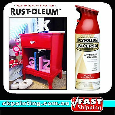 Rustoleum Rust-Oleum Universal All Purpose Spray Paint Gloss Cardinal Red