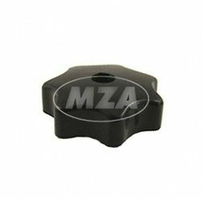 Star Grip Nut M6 - Black - For Engine Cover and Hood Simson