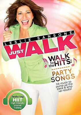 LESLIE SANSONE WALK TO THE HITS PARTY SONGS DVD EXERCISE NEW SEALED WORKOUT