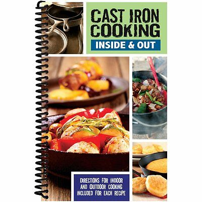 FREE 2 DAY SHIPPING: Cast Iron Cooking Inside & Out by CQ Products (Spiral-bound