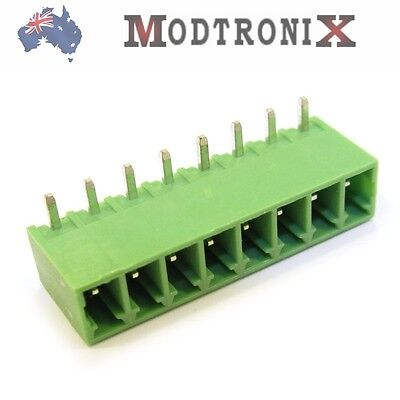 10pcs 8 Way/Pin 3.81mm Terminal Block Header (PCB mount), SYD COMBINED Shipping