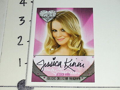 2013 Benchwarmer JESSICA KINNI Eclectic #76 On Card Autograph LE Rock of Love