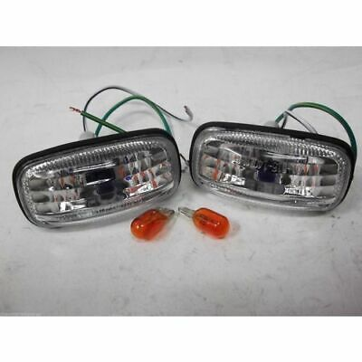 Clear Guard Indicator Lamps (PAIR) - Nissan Pulsar N15 *BRAND NEW*