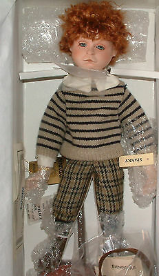 "Seymour Mann 1993 Porcelain Doll Collection - ""Spanky""  16"" Lot934"