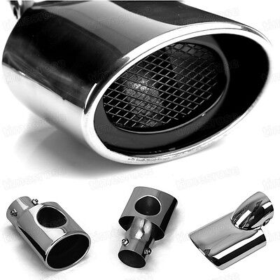 New 1Pcs Stainless Steel Exhaust Muffler Tail Pipe Tip Tailpipe for Ford Focus