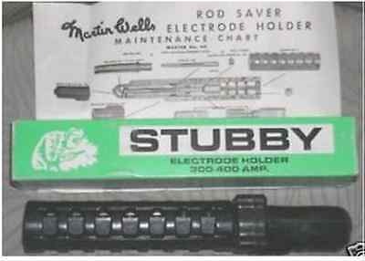 Stubby Electrode Holder 300 400 Amp Made in USA by Martin Wells Welding Welder