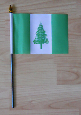 Norfolk Island Hand Flag - small