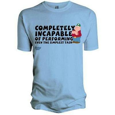Family Guy - Completely Incapable Short Sleeve Mens T-Shirt - New & Official