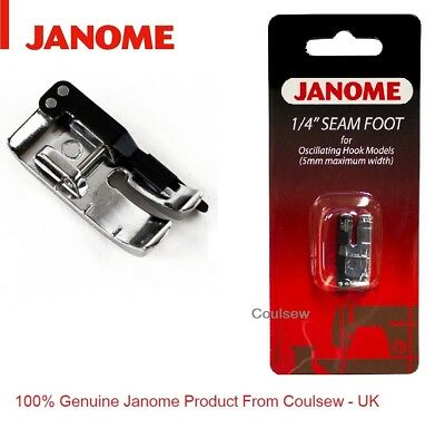JANOME sewing machines 1/4 inch seam foot (cat A) patchwork quilting 200330008