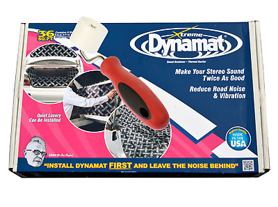 DYNAMAT Xtreme BULK PACK 18 sheets 72FT ROLLER extreme  + Free Roller