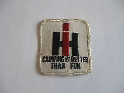 International Harvester Camping Better Than Fun Sew-On Patch