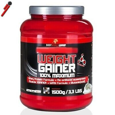 BWG, Weight Gainer, 1500 g Proteine e Carboidrati
