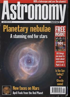 ASTRONOMY NOW MAGAZINE - April 2005