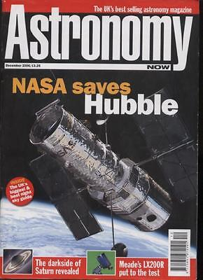 ASTRONOMY NOW MAGAZINE - December 2006