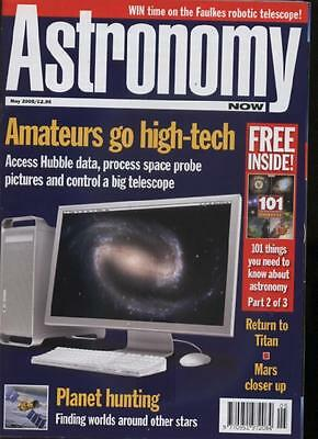 ASTRONOMY NOW MAGAZINE - May 2005