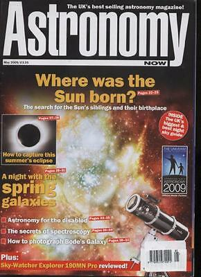 ASTRONOMY NOW MAGAZINE - May 2009