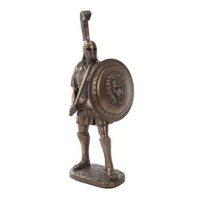 "10200 11.5"" Bronze Colored Alexander The Great Figurine Statue"