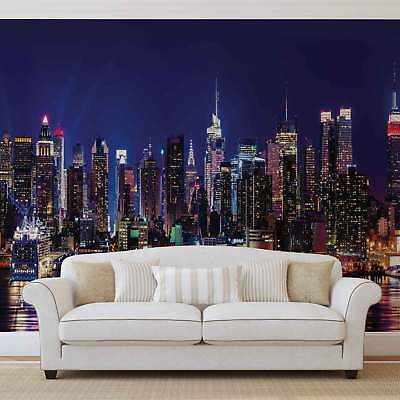 WALL MURAL PHOTO WALLPAPER PICTURE (1310PP) New York City Skyline Urban