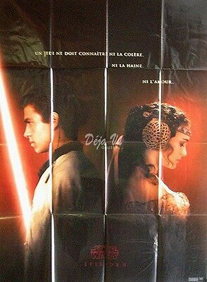 "Star Wars Episode II: Attack of the Clones French Original Movie Poster 47""x63"""