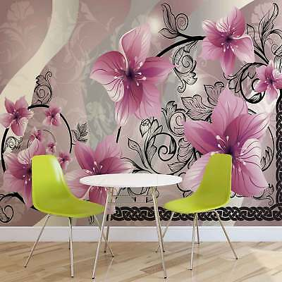 WALL MURAL PHOTO WALLPAPER PICTURE (1231P) Flowers Flower Floral