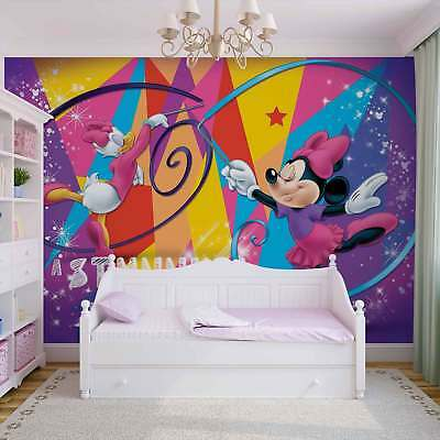 WALL MURAL PHOTO WALLPAPER PICTURE (1255P) Disney Minnie Mouse Kids Children