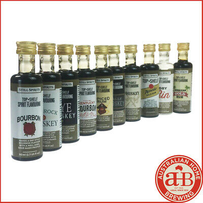 Still Spirits Top Shelf Spirit Essences ANY 10 OF CHOICE homebrew spirit making