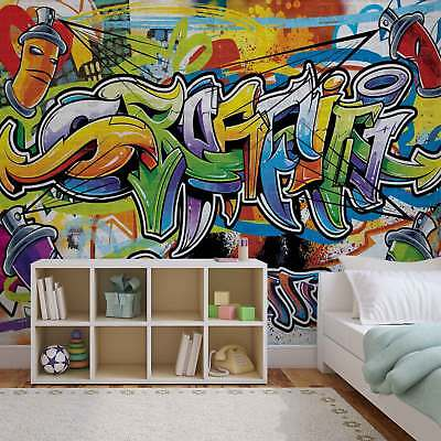 WALL MURAL PHOTO WALLPAPER PICTURE (1400PP) Graffiti Boys Urban Art