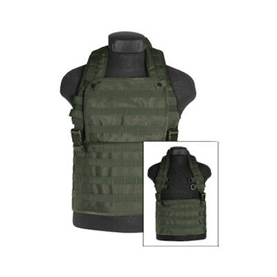 Army Tactical Airsoft Molle Chest Rig Carry Vest Military Combat Airsoft Olive