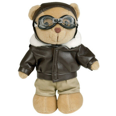 Teddy Bear Combat Pilot Army Aviation Officer Military Airman Aviator Flyer Toy