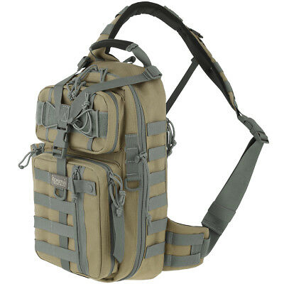 Maxpedition Sitka Gearslinger Day Pack Military EDC Hydration Bag Khaki Foliage