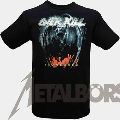 "Overkill  "" Ironbound "" T-Shirt 104482 #"
