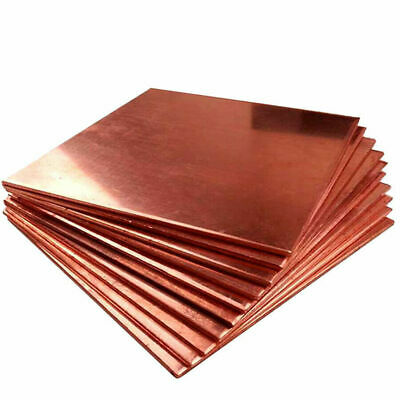 5pcs Copper Metal Sheet Cathode Plate for Hull Cell 0.25mm x 100mm x 65mm