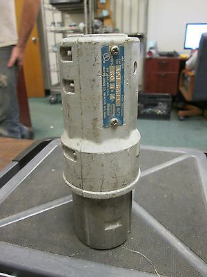 Crouse-Hinds Arktite Plug  APJ-6485  60A  3W  4P  600V  Used - Missing Bushing