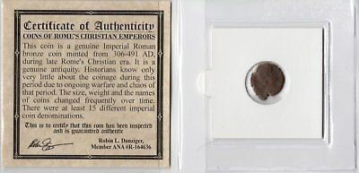 Valens Certified Authentic Ancient Roman Coin
